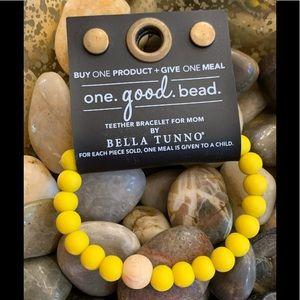 NWT Bella Tunno One.Good.Bead Teether Bracelet